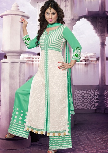 Fascinating Palazzo Salwar Suit4