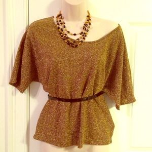 Fashionable Shimmer Top