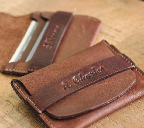 Flap Closure Front Pocket Wallet