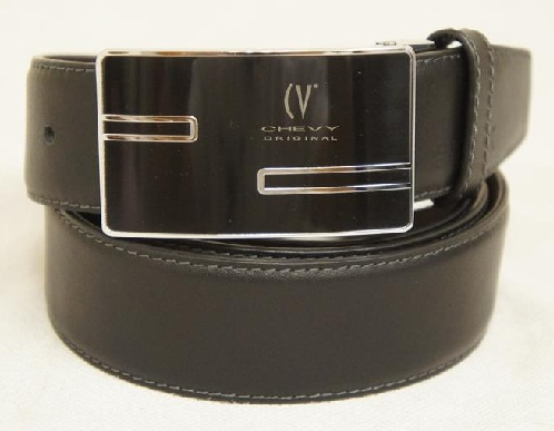 Flat Buckle Formal Belt