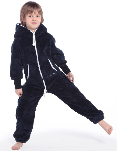 Fleece Kid Jumpsuit