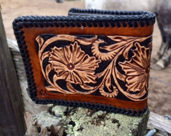Floral Crafted Wallet