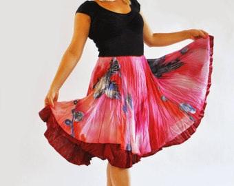 chiffon-skirts