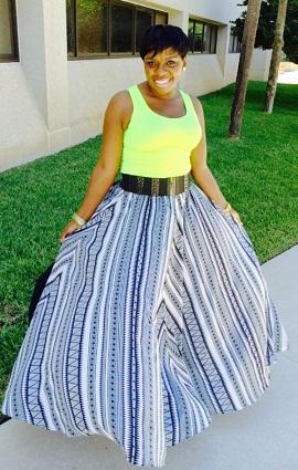 Full Circle Flowy Skirt