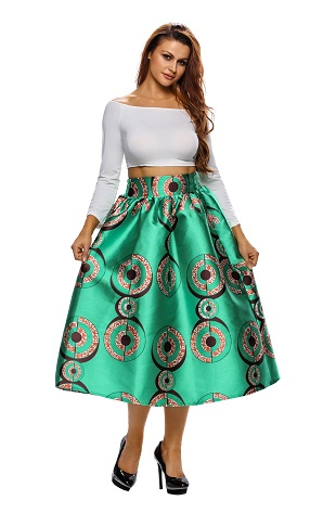 Funky A line skirt