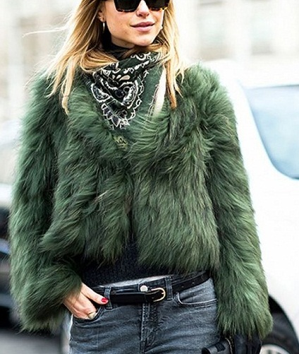 Funky Faux Fur Top-6