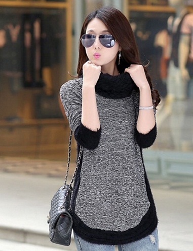 Fur Attached Winter Top