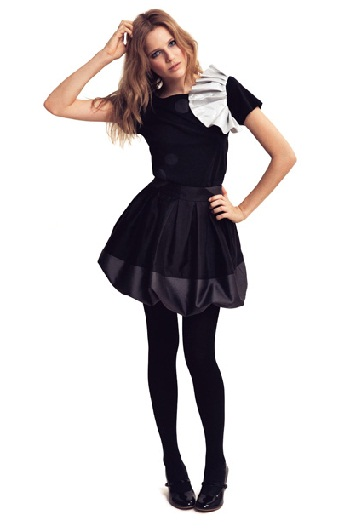 Gorgeous black bubble skirt