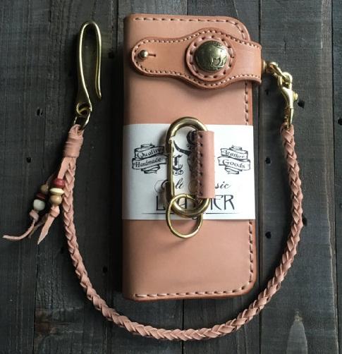 Handmade Leather Long Biker Wallet