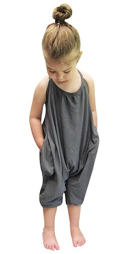 Harem Pant Kid Jumpsuit