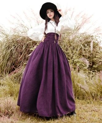 High Waisted A line skirt