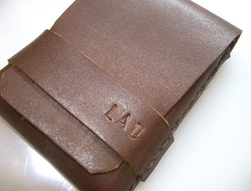 Insert Flap Personalized Wallet