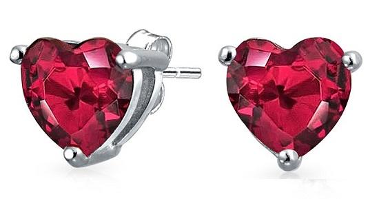 July birthstone earrings