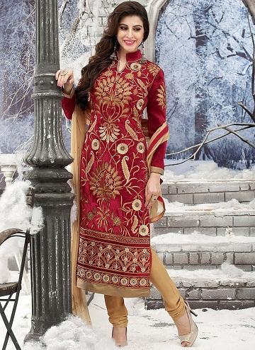 Kasab work Designer Churidar