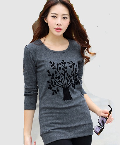 Kashmiri Printed Long Sleeve Top