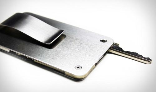 Key let Steel Wallet