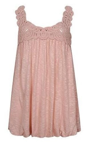 Lace Sleeveless Nighty