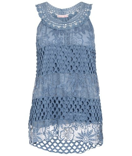 Lace Summer Tunics Tops for Girls