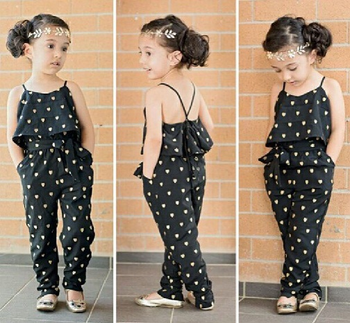 Layer Style Jumpsuit for Kids