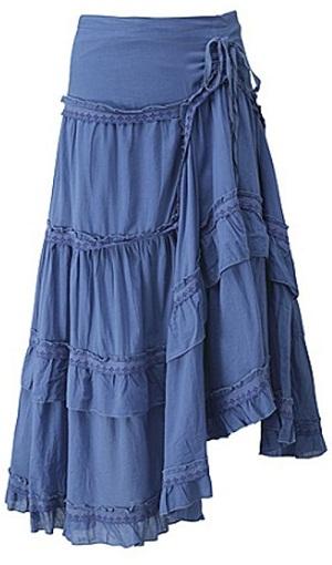 Layered Broomstick Skirt