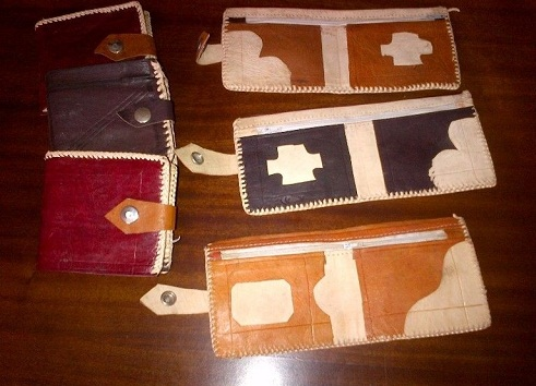 Leather Hand Crafted Wallet