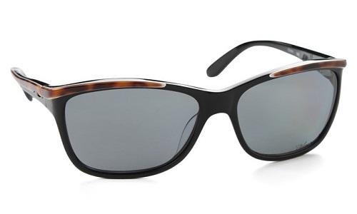 Leopard Print Black Polarized Sunglasses