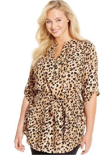 Leopard Printed Tunics