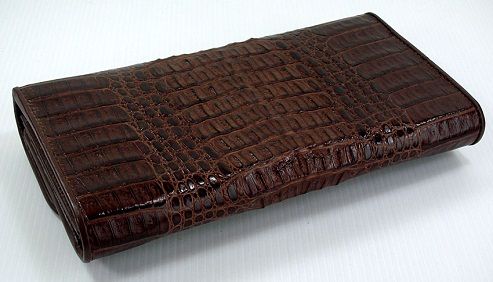 Long River Crocodile Wallet