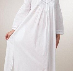 Long Sleeve Summer Night Gown