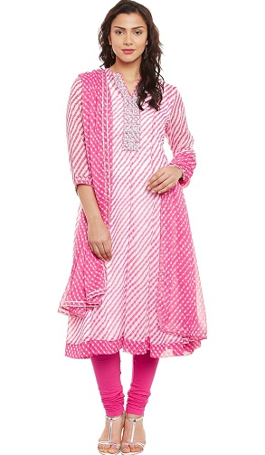 Loose Stitch Churidar Kurta13
