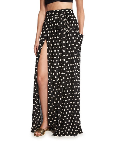 9 top fashionable polka dot skirts styles at