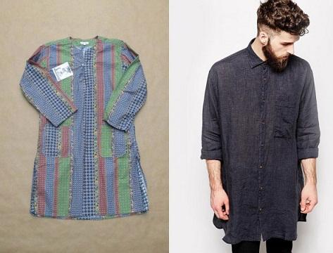 Men's Casual Printed Tunics