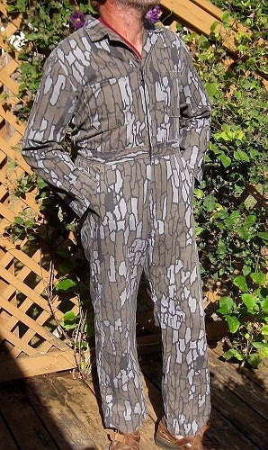 Men's Hunting cottonJumpsuit