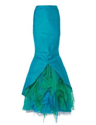 Mermaid style designer skirt