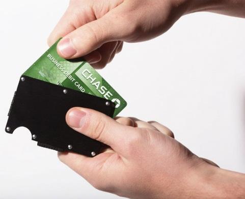 Metal Front Pocket Wallet
