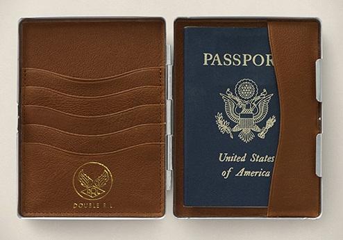 Metal Passport Wallet