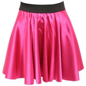Metallic Pink Skater skirt
