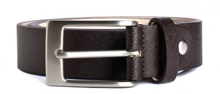 Minute Plaid Formal Belt