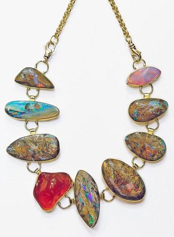 Multi-colored Opal Bracelet
