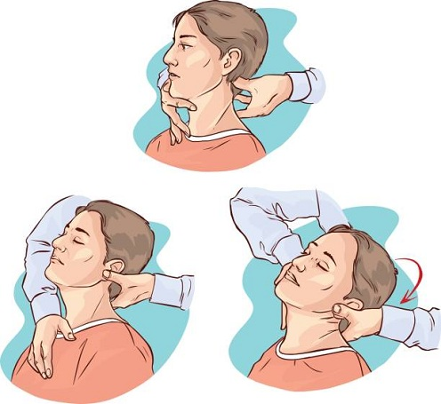 Neck Rotation Exercise