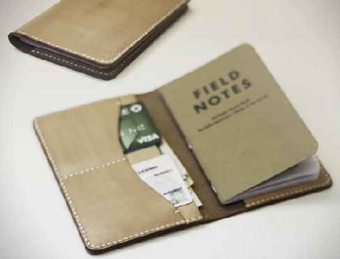 Notebook Passport Wallet