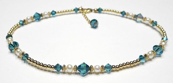 November birthstone anklets