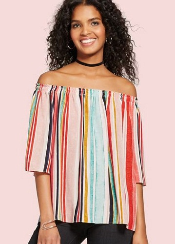 Off Shoulder Funky Casual Top
