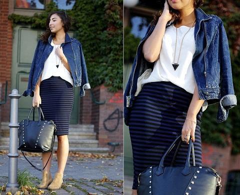 Office Wear Black Tight Skirts