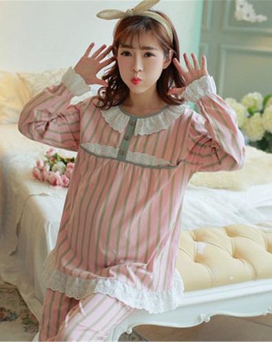 Pajama Style Pregnancy Nighty