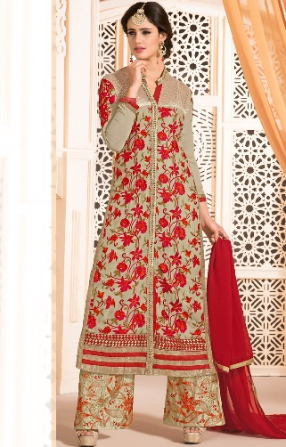 Palazzo Suit with Embroidery Work3