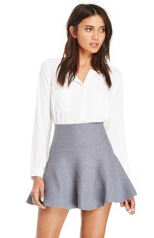 Party wears flip skirt