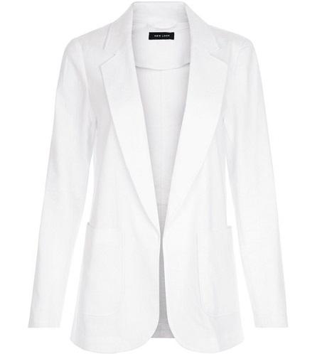 Patch Pocket Blazer Jacket