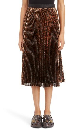 Pencil Broomstick Skirt