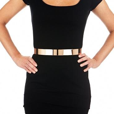 Plain Gold Belt for Women Waist